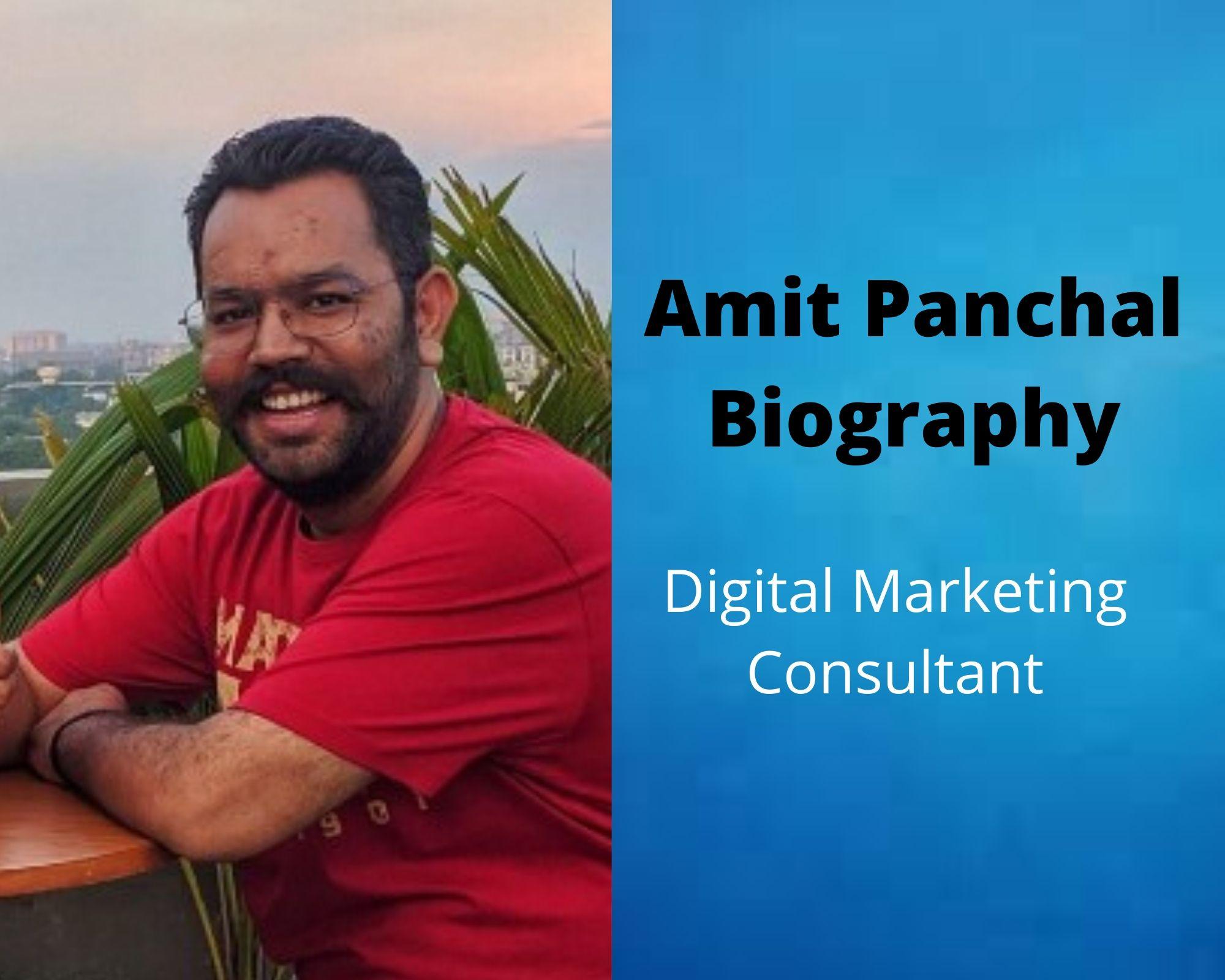 Amit-Panchal-Biography