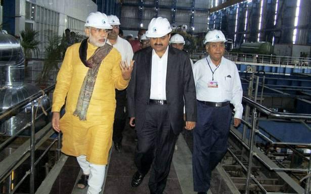 gautam adani with narendra modi