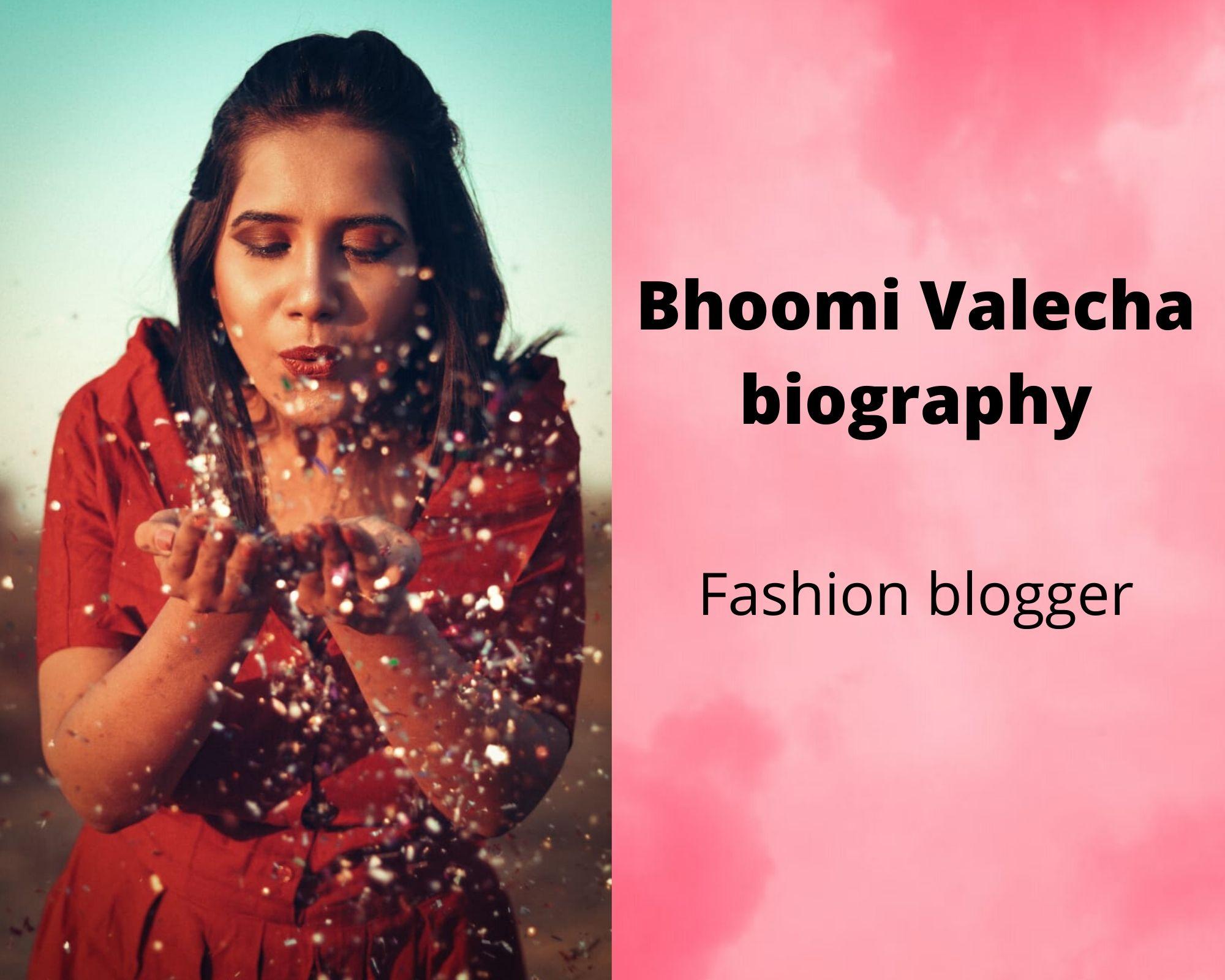 Bhoomi Valecha Biography | Corporate Professional | Fashion blogger