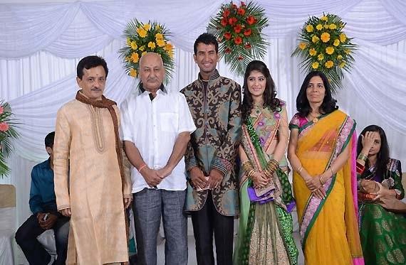Cheteshwar Pujara profile family.