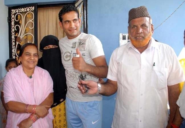 Irfan-Pathan-Family