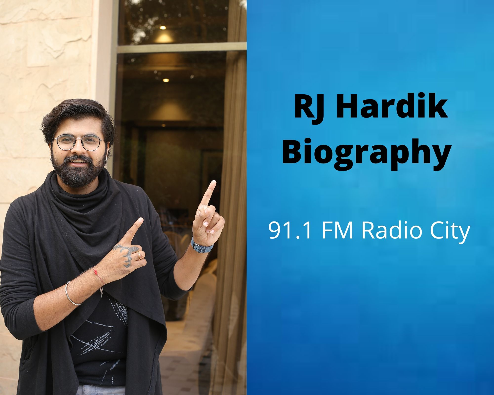 RJ Hardik Biography