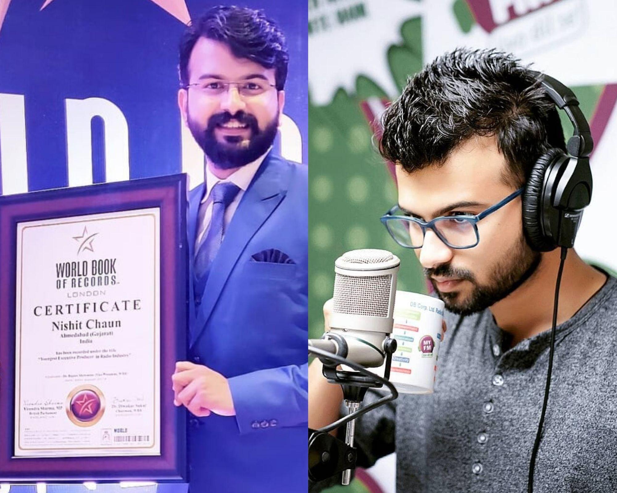 RJ Nishit Chaun Career