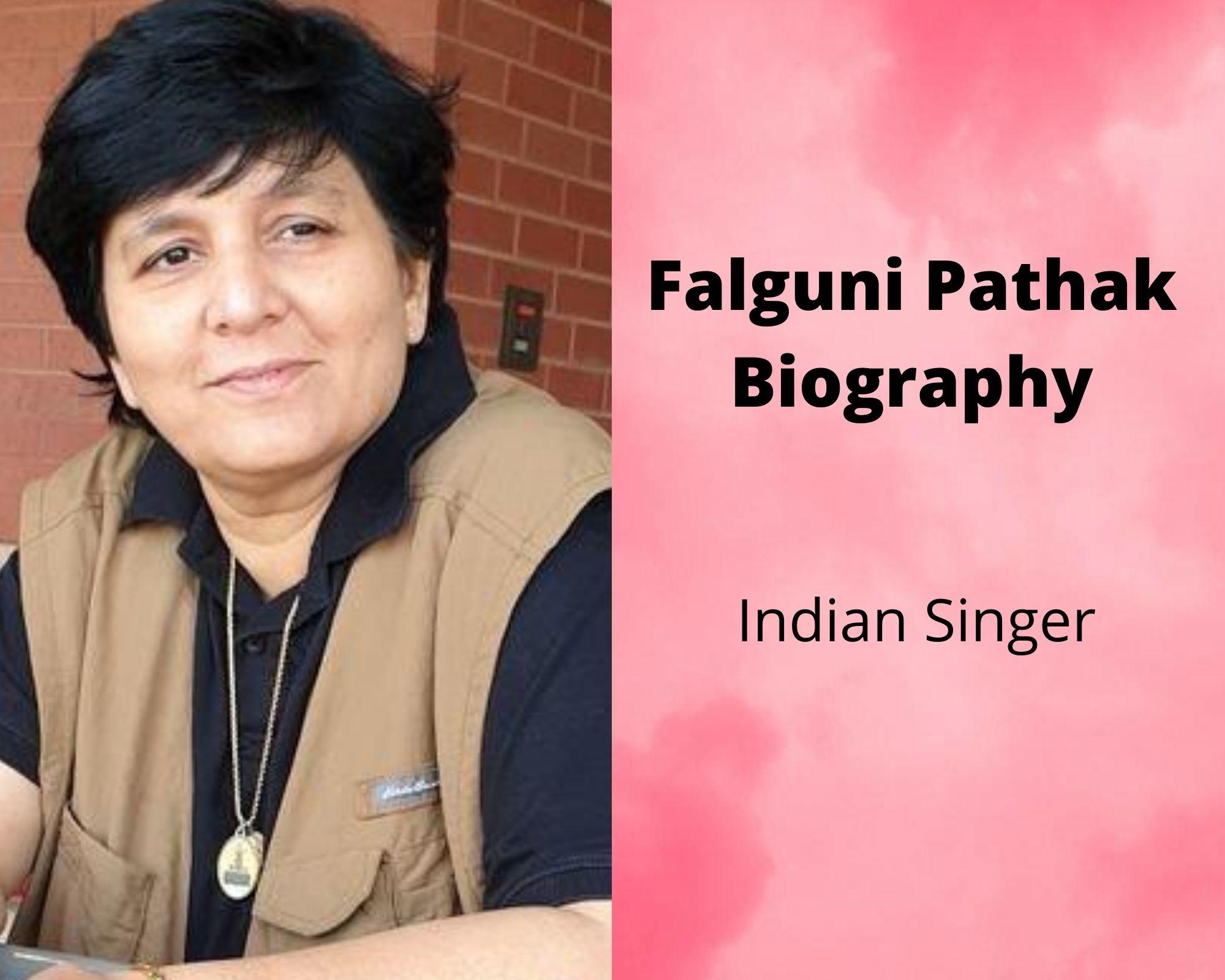Falguni Pathak biography