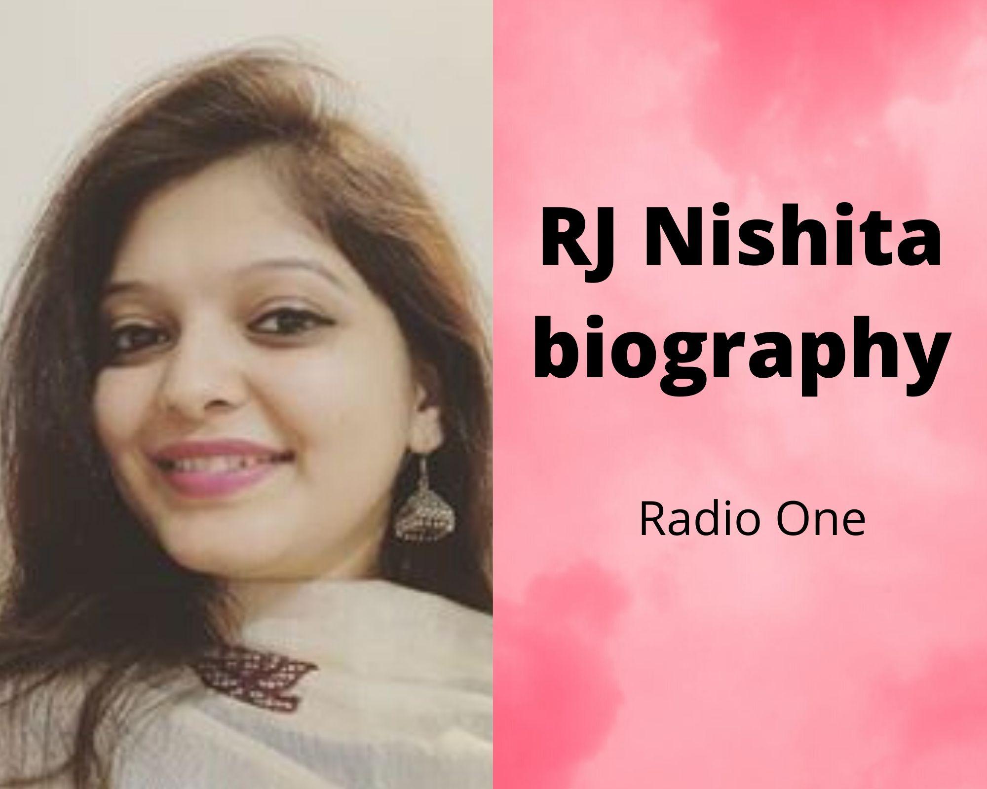 RJ Nishita biography | Family | Career | Radio One FM 95