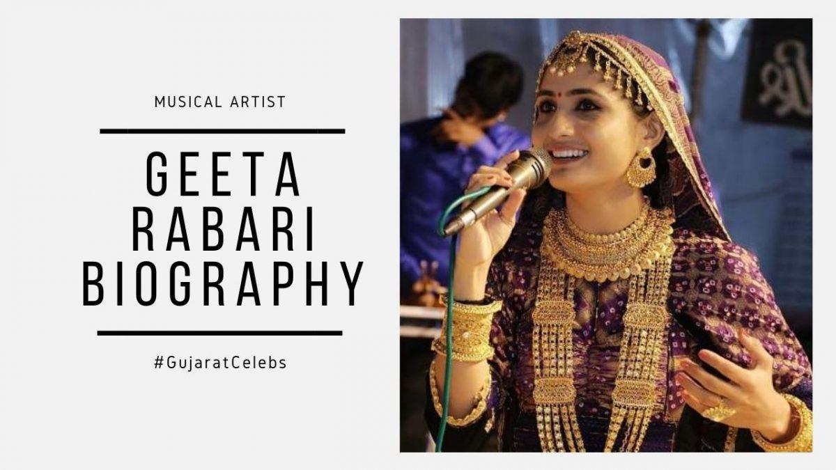 Geeta Rabari Biography | Age | Family | Net worth | House | Photos