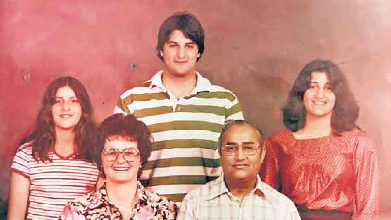 Sunita-Williams-family