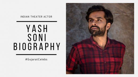 Yash soni Biography