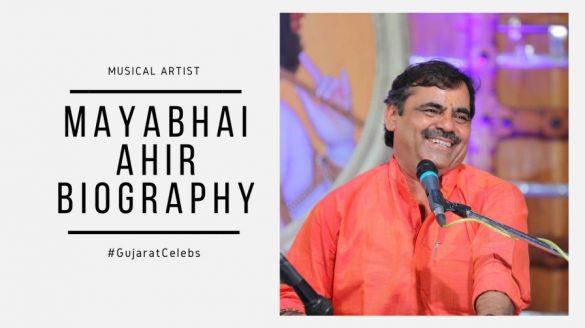 Mayabhai Ahir biography