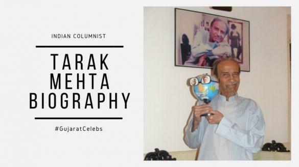 Tarak mehta biography