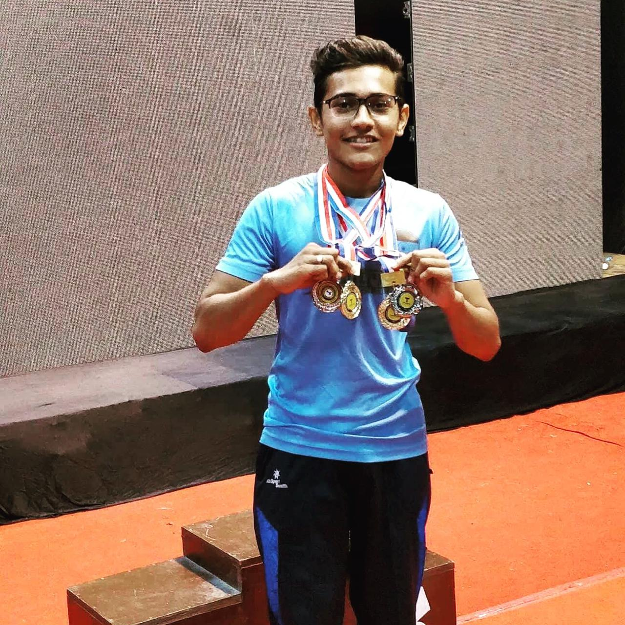 Varun Dave medal