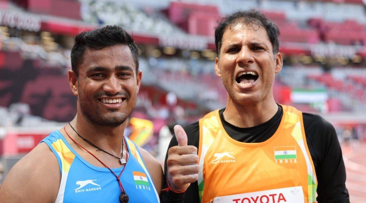 TWO MEDALS FOR INDIA AT THE MEN'S JAVELIN THROW F46!
